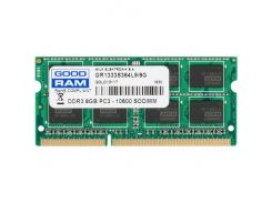Оперативная память Goodram 8 GB SO-DIMM DDR3 1333 MHz GR1333S364L9/8G (4884394)