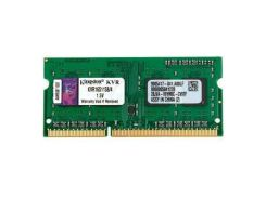 Оперативная память для ноутбука SoDIMM DDR3 4GB 1600 MHz Kingston KVR16S11S8/4 (4884586)