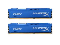 Оперативная память Kingston 16 GB 2x8GB DDR3 1600 MHz HyperX FURY HX316C10FK2/16 (4884750)