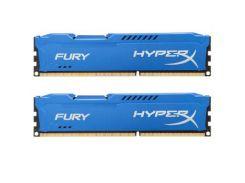 Оперативная память для компьютера DDR3 8Gb 2x4GB 1600 MHz HyperX Fury Blu Kingston HX316C10FK2/8 (4690887)