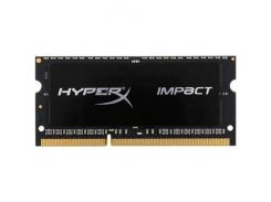 Оперативная память Kingston SO-DIMM DDR3 1866MHz 8GB HyperX Impact Black HX318LS11IB/8 (5008643)