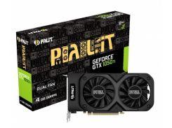 Видеокарта GF GTX 1050 Ti 4GB GDDR5 Dual Palit NE5105T018G1-1071D (4996010)