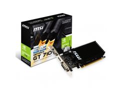 Видеокарта MSI PCI-Ex GeForce GT 710 1024 MB DDR3 (GT 710 1GD3H LP) (4884315)