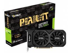 Видеокарта GF GTX 1050 Ti 4GB GDDR5 Dual OC Palit NE5105TS18G1-1071D (4996018)