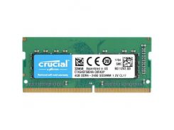 Оперативная память Crucial DDR4 2400 4GB SO-DIMM Retail CT4G4SFS824A (5365743)