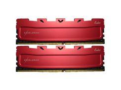 Оперативная память для компьютера DDR4 16GB 2x8GB 2800 MHz Red Kudos eXceleram EKRED4162817AD (6332988)