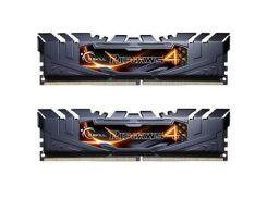 Оперативная память для компьютера DDR4 16GB 2x8GB 3000 MHz Ripjaws4 Black G.Skill F4-3000C15D-16GRK (9202051)