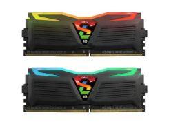 Оперативная память для компьютера DDR4 16GB 2x8GB 2666 MHz Super Luce RGB GeIL GLS416GB2666C16ADC (9202054)