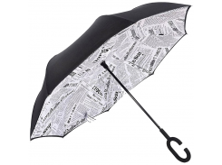 Зонт обратного сложения Up-Brella Journal White (20000)