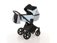 Детская коляска 2 в 1 Tako Junama Geographic 03 Серо-голубая (13-JG03)