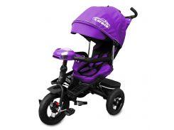 Велосипед трехколесный TILLY CAYMAN Т-381 Фиолетовый (21-Т-381-3)