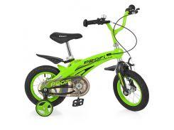 Детский велосипед Profi 12 LMG012124 Зеленый (23-SAN223)