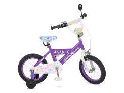 Детский велосипед Profi 14 L014132 Фиолетовый (23-SAN230)