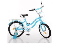 Детский велосипед Profi 16 L01694 Голубой (23-SAN259)