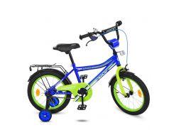 Детский велосипед Profi 16 Y016103 Синий (23-SAN263)