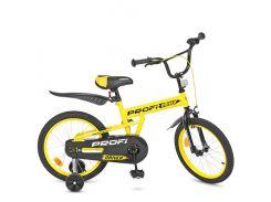 Детский велосипед Profi 18 L018111 Желтый (23-SAN270)
