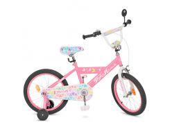 Детский велосипед Profi 18 L018131 Розовый (23-SAN273)