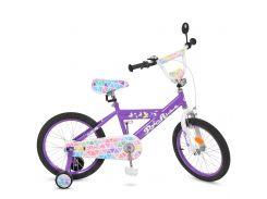 Детский велосипед Profi 18 L018132 Фиолетовый (23-SAN274)
