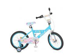 Детский велосипед Profi 18 L018133 Голубой (23-SAN275)