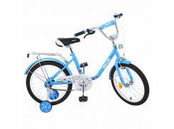 Детский велосипед Profi 18 L01884 Голубой (23-SAN277)