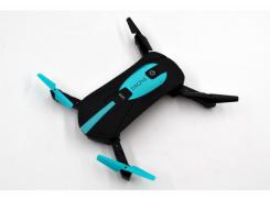 Квадрокоптер складной Drone Selfie JY0018 с HD камерой Черный (31-SAN031)
