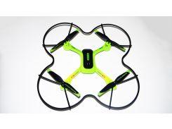 Квадрокоптер Drone LS-02017-W c WiFi камерой Зеленый (31-SAN032)