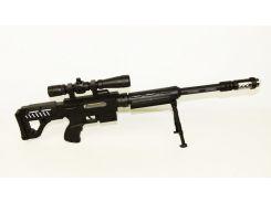 Игрушечное оружие Автомат музыкальный 92934A Черный (37-SAN015)