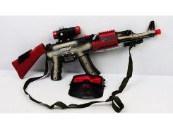 Игрушечное оружие Автомат музыкальный 6613A Разноцветный (37-SAN016)