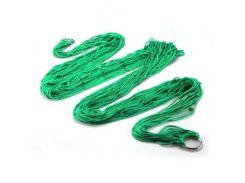 Гамак сетка на кольцах 270х80 см Green (003793)