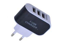 Зарядное устройство Спартак Сharger 3.1A Черный с белым (005179)