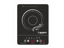 Настольная плита стеклокерамическая Besser 10249 2000 Вт Черный (008113)