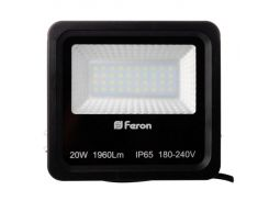 Прожектор светодиодный Feron LL-620 LED 40 LEDS Черный (007656)