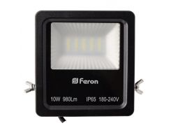 Прожектор светодиодный Feron LL-610 LED 20 LEDS Черный (007655)