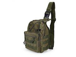Рюкзак-сумка тактическая военная Спартак 600D Olive (006795)