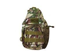 Рюкзак-сумка тактическая военная Спартак N02214 Camo Камуфляж (007413)