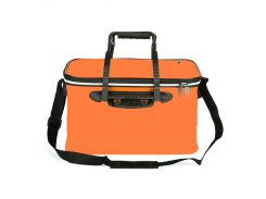 Сумка ящик SF23835 для рыбалки водонепроницаемая с карманом 45 х 27 х 25 см Оранжевый (007103)