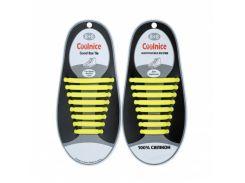 Силиконовые шнурки Coolnice В01 Желтый (nr1-320)