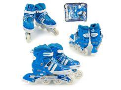 Ролики детские Best Rollers 9031 размер 35 - 38 Синие (10-SAN041)