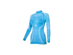Женская термокофта Haster Merino Wool L/XL Синяя