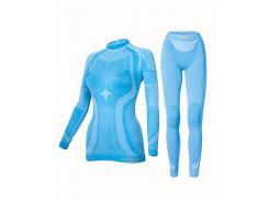Комплект женского термобелья Haster Merino Wool L/XL Синий