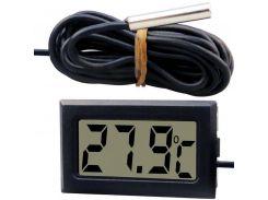 Цифровой термометр с выносным датчиком DC1 Черный (hub_np2_1234)