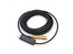 Камера эндоскоп с кабелем на 5 метров USB (hub_np2_0740)