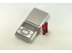 Карманные ювелирные электронные весы 0.1-500 гр Серебристый (np2_0745)
