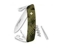 Швейцарский нож SWIZA C03 Silva Оливковый (30.2050)