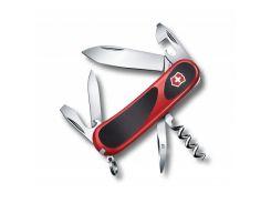 Швейцарский нож Victorinox EvoGrip 10 Красно-черный (2.3803.C)