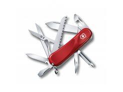 Швейцарский нож Victorinox Evolution 18 Красный (2.4913.E)