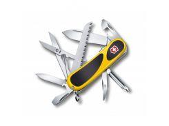 Швейцарский нож Victorinox EvoGrip 18 Желтый (2.4913.C8)
