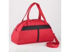 Спортивная сумка Красная с черным (Ssport_red-black_fly)