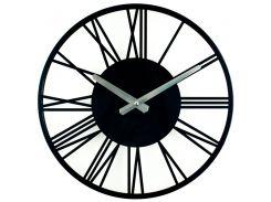 Настенные Часы Glozis Rome 35х35 см Черный (B-022)