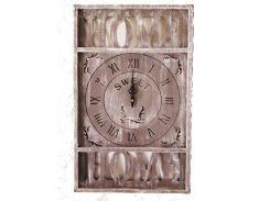 Часы настенные Home Гранд Презент Коричневый (H75452)